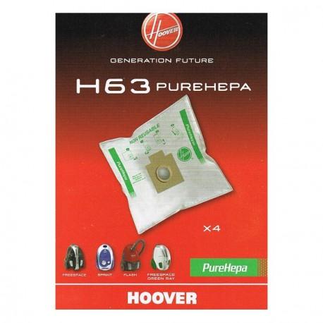 SACCHI ASPIRAPOLVERE H63 HOOVER 35600536