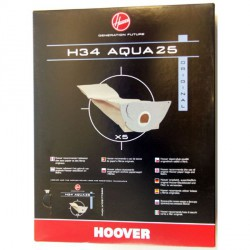 SACCHI BIDONE H34 Aqua25 HOOVER 09177650