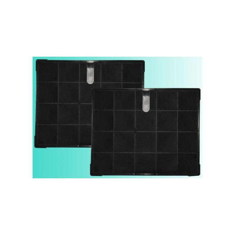 2 filtri carbone per cappa cm 19 1x23 5 - Filtri per cappa cucina ...